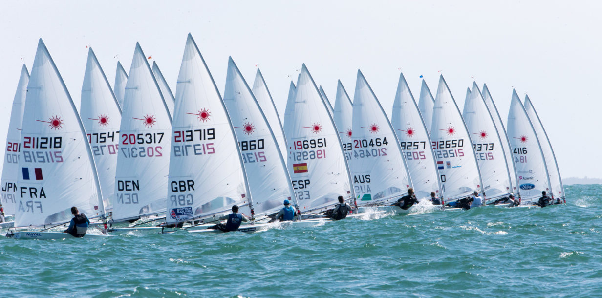 top 25 will join the 2019 laser senior europeans